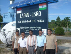 Lapan Crew with several SPID BIG-RAS/HR rotators in use