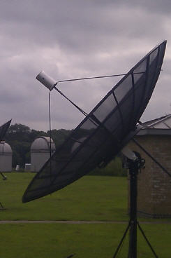 3 Meter Dish and SPID RAS