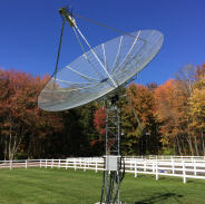 NC1I HAM Radio Station 1296MHz EME (4.5Meter Dish and BIG-RAS/HR Rotator