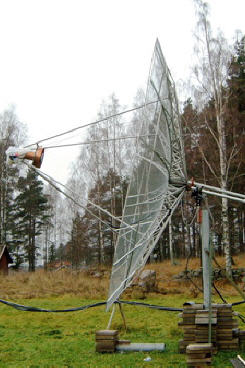 5 Meter dish and SPID BIG-RAS