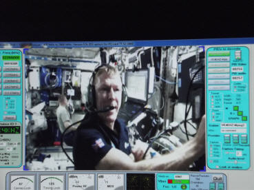 Tim Peake talking with students in Canada LIVE